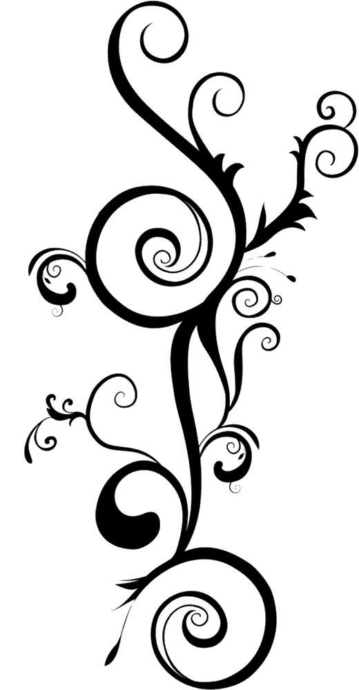 a pretty swirl