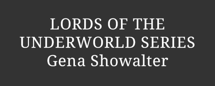 Book Review – Lords of the Underworld series by Gena Showalter