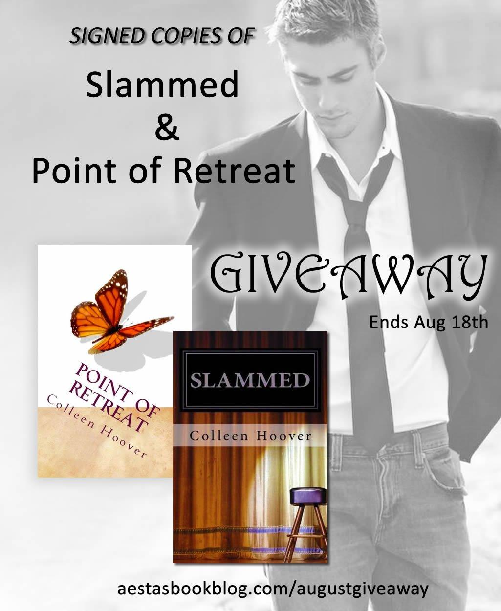 Slammed/Point of Retreat Giveaway!!!