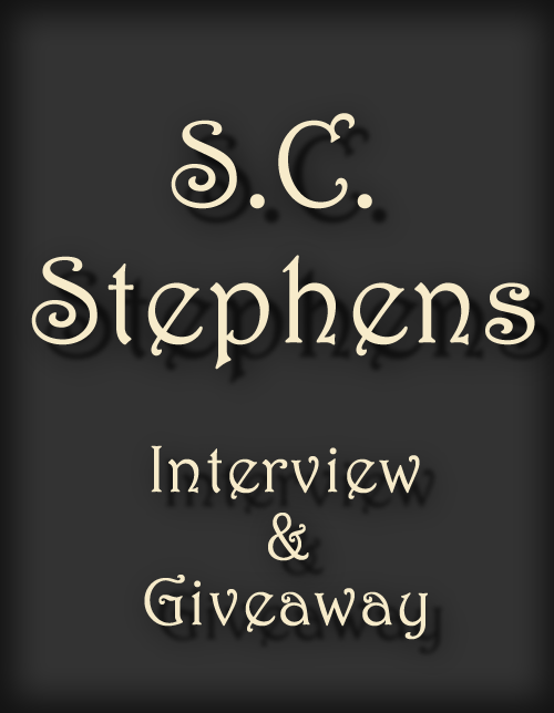 SC STEPHENS ~ Interview & GIVEAWAY