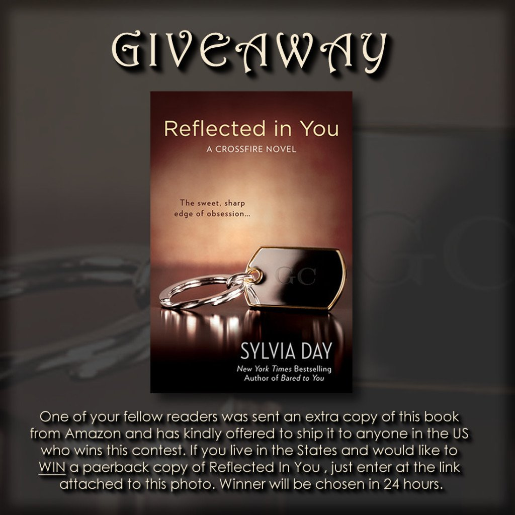 REGLECTED IN YOU giveaway
