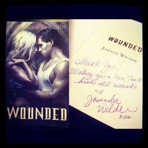 Wounded signed