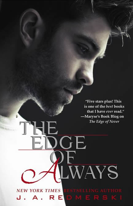 Cover Reveal & Excerpt – The Edge of Always by J.A. Redmerski