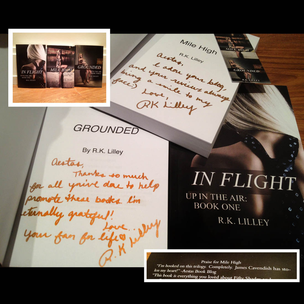 UP IN THE AIR signed RK LILLEY