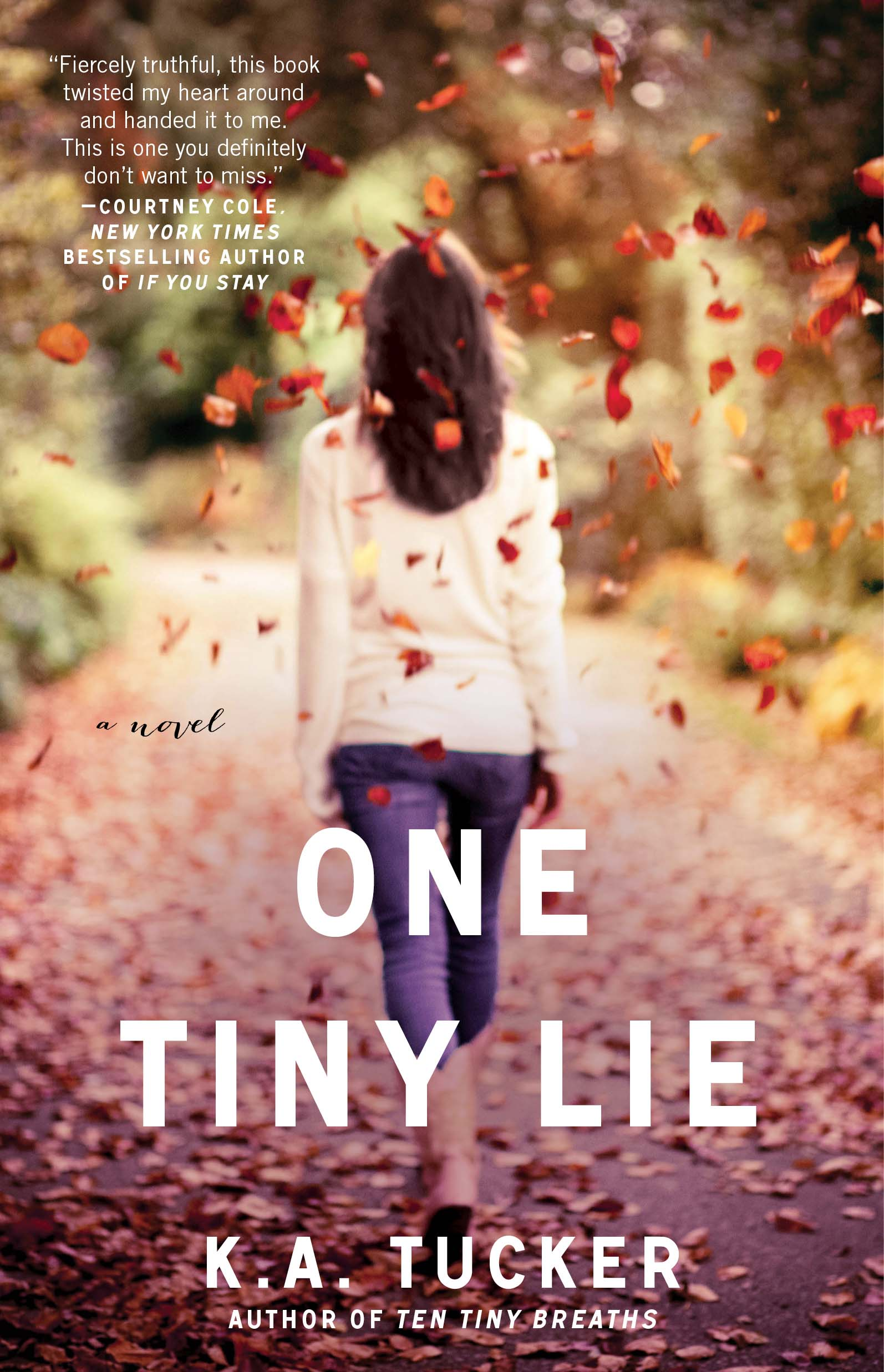 Cover Reveal – One Tiny Lie (Ten Tiny Breaths #2) by KA Tucker