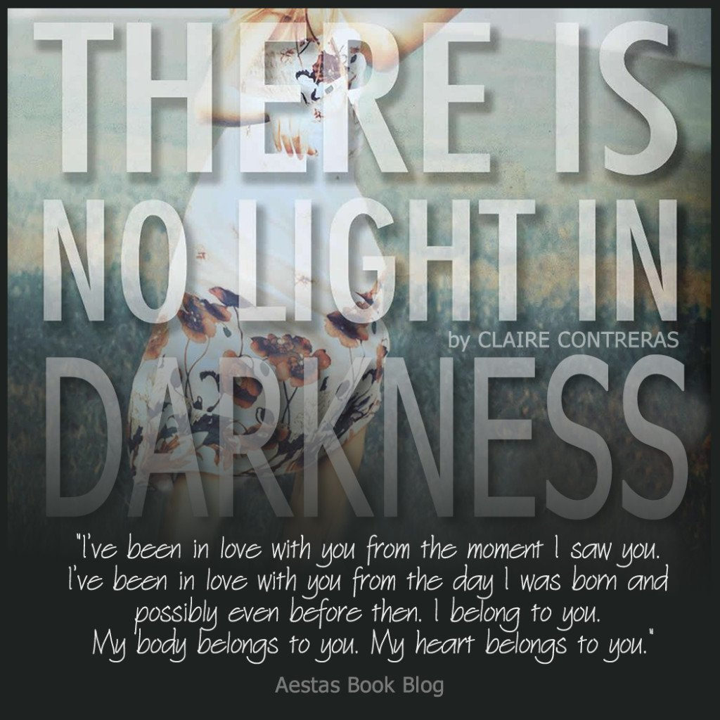 THERE IS NO LIGHT IN DARKNESS promo