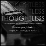 Thoughtless by SC Stephens