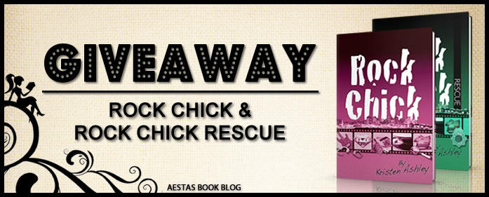 KRISTEN ASHLEY FANS!!! Here's a ROCK CHICK GIVEAWAY!!!!