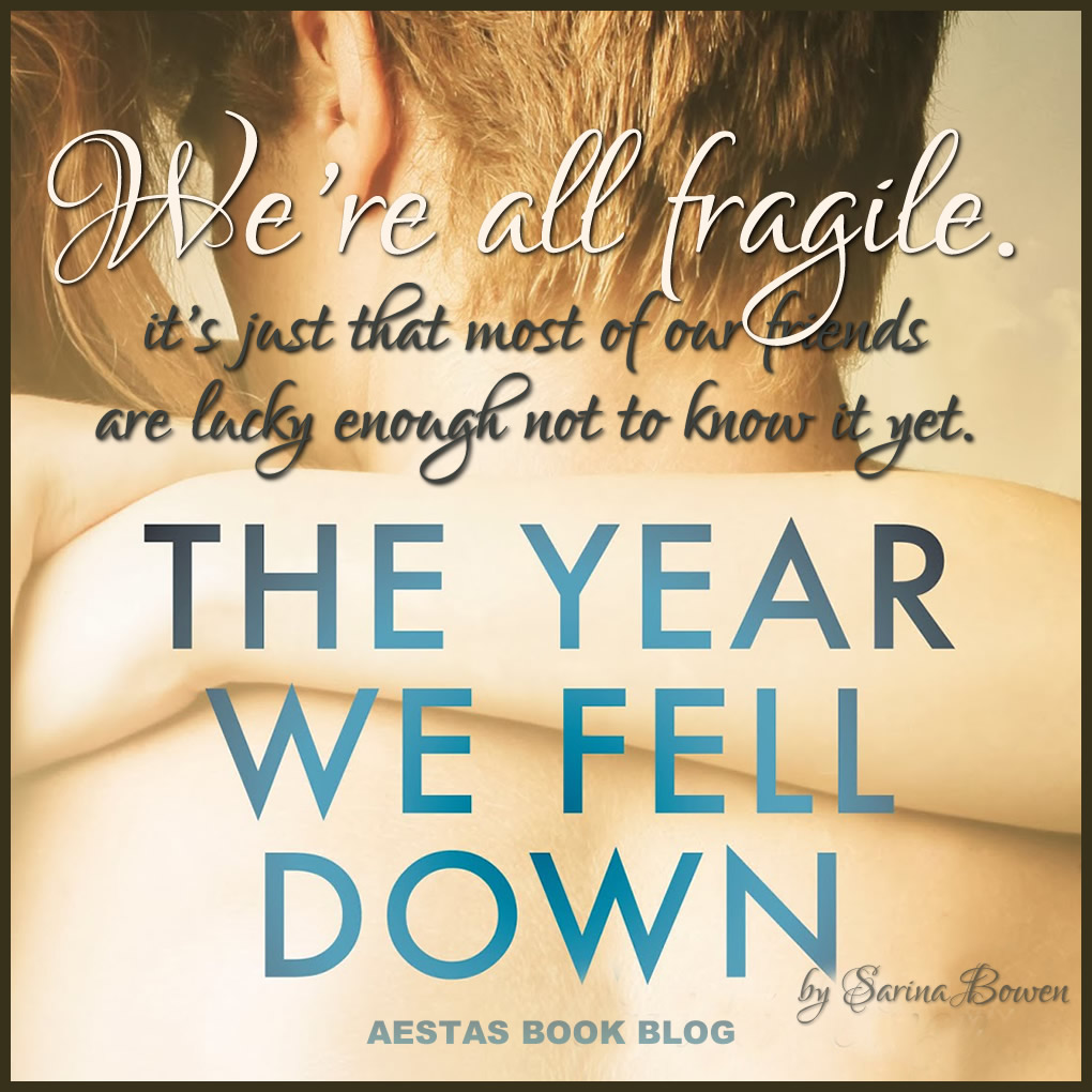 THE YEAR WE FELL DOWN promo