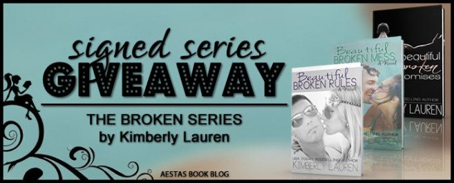 SIGNED GIVEAWAY — The Broken series by Kimberly Lauren