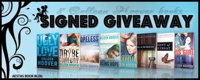 SIGNED GIVEAWAY — 8 Colleen Hoover books!!!!