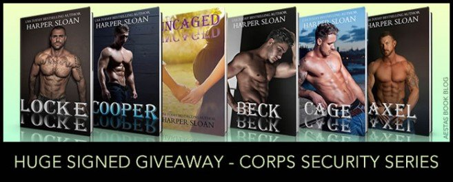 HUGE SIGNED GIVEAWAY — THE CORPS SECURITY SERIES
