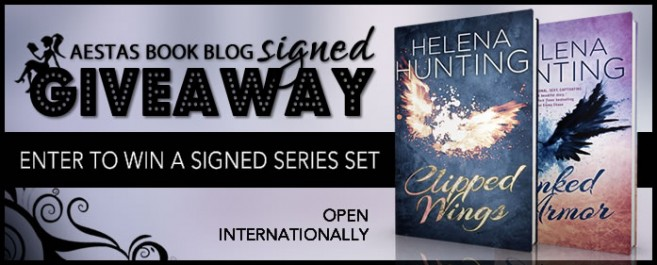 SIGNED GIVEAWAY — CLIPPED WINGS & INKED ARMOR by Helena Hunting
