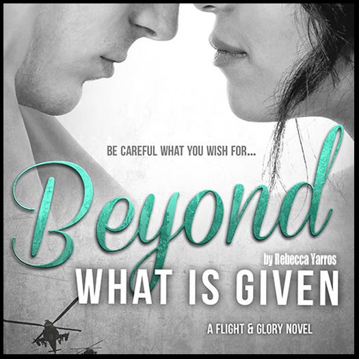 BEYOND WHAT IS GIVEN promo