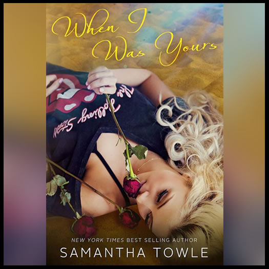 WHEN I WAS YOURS promo
