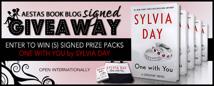 "HUGE SIGNED GIVEAWAY — Win (5) ""ONE WITH YOU"" Prize Packs"