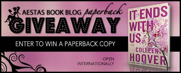 GIVEAWAY (PAPERBACK) — IT ENDS WITH US by Colleen Hoover