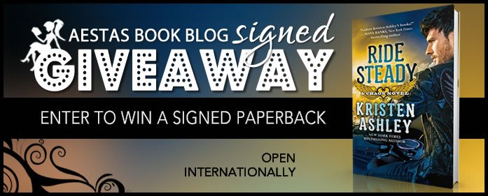 SIGNED GIVEAWAY — RIDE STEADY by KRISTEN ASHLEY