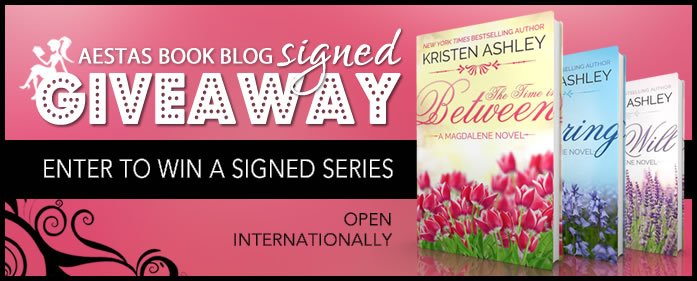 HUGE SIGNED GIVEAWAY OF KRISTEN ASHLEY BOOKS!!!