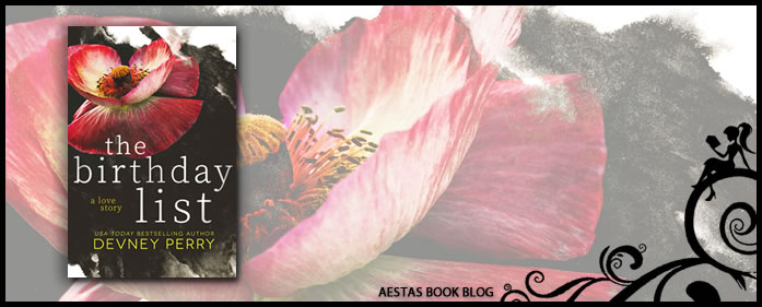 Book Review — The Birthday List by Devney Perry